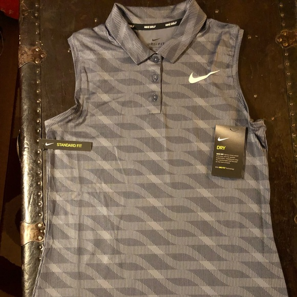 0edfaf8ac7b425 Nike Tops | Womens Dry Sleeveless Golf Polo | Poshmark